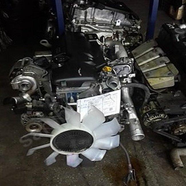Mitsubishi Canter Euro 4 Komple Çıkma Motor